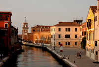 Venetian Canal at Sunset