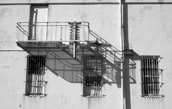 Fire Escape, San Francisco Presidio